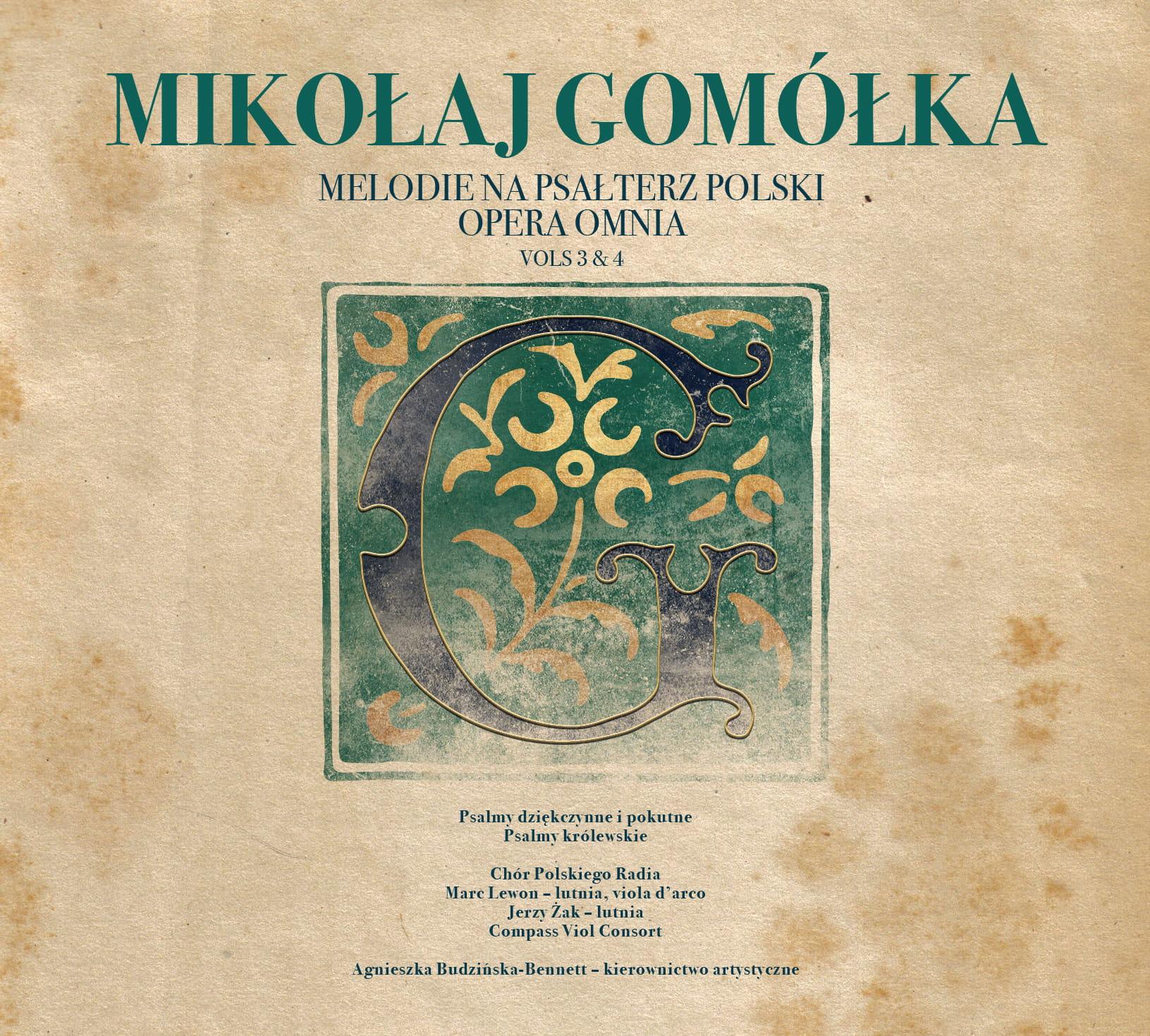 Mikołaj Gomółka - Melodie na psałterz polski. Opera Omnia vol. 3 & 4 [2 CD]