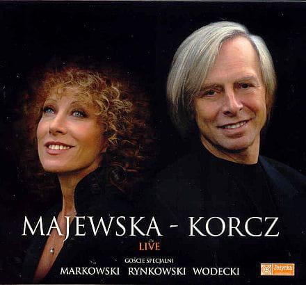 Alicja Majewska & Włodzimierz Korcz - Live [CD]