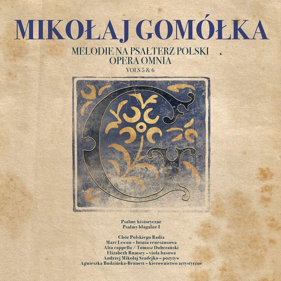 Mikołaj Gomółka - Melodie na psałterz polski, vol. 5 & 6 [2 CD]