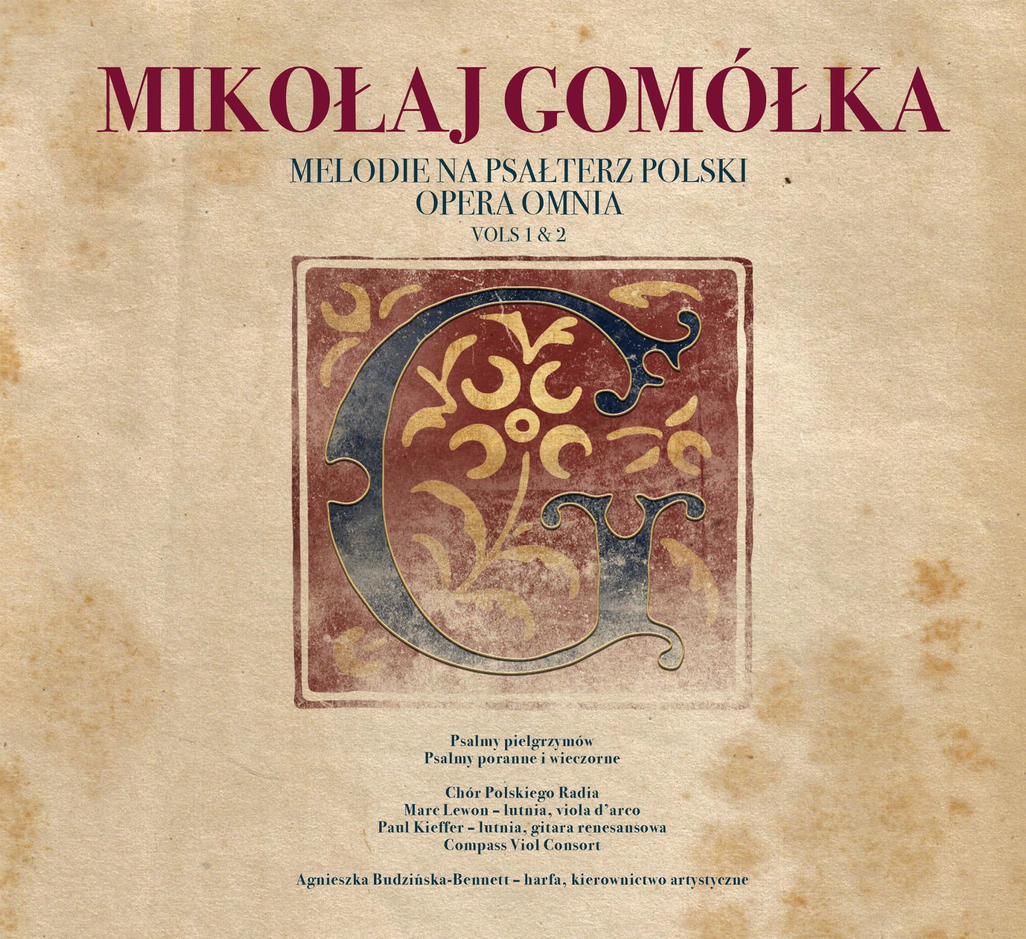 Mikołaj Gomółka – Melodie na Psałterz Polski vol. 1 i 2 [2 CD]